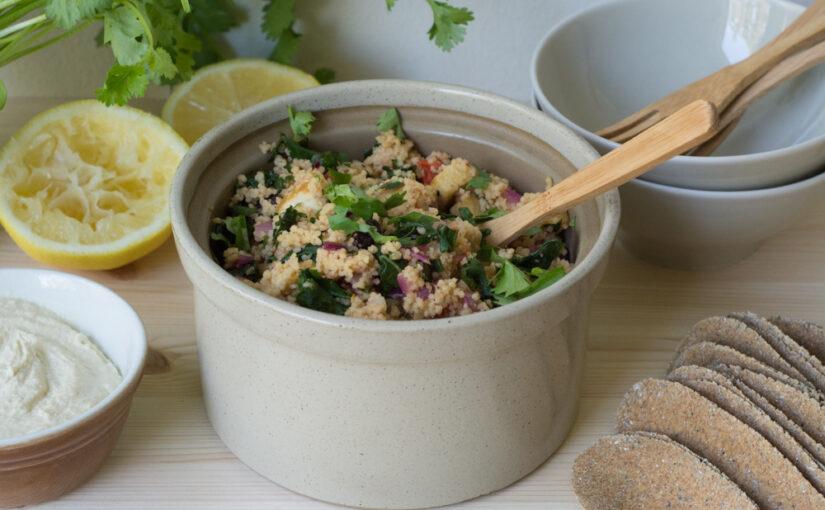 Tofu-couscous